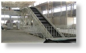 HEAVY LIGHT DUTY CONVEYOR 9 pitch conveyor